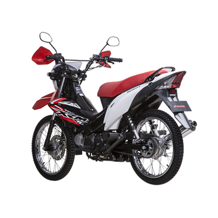 XRM 125 back I Rent-A-Car-Palawan