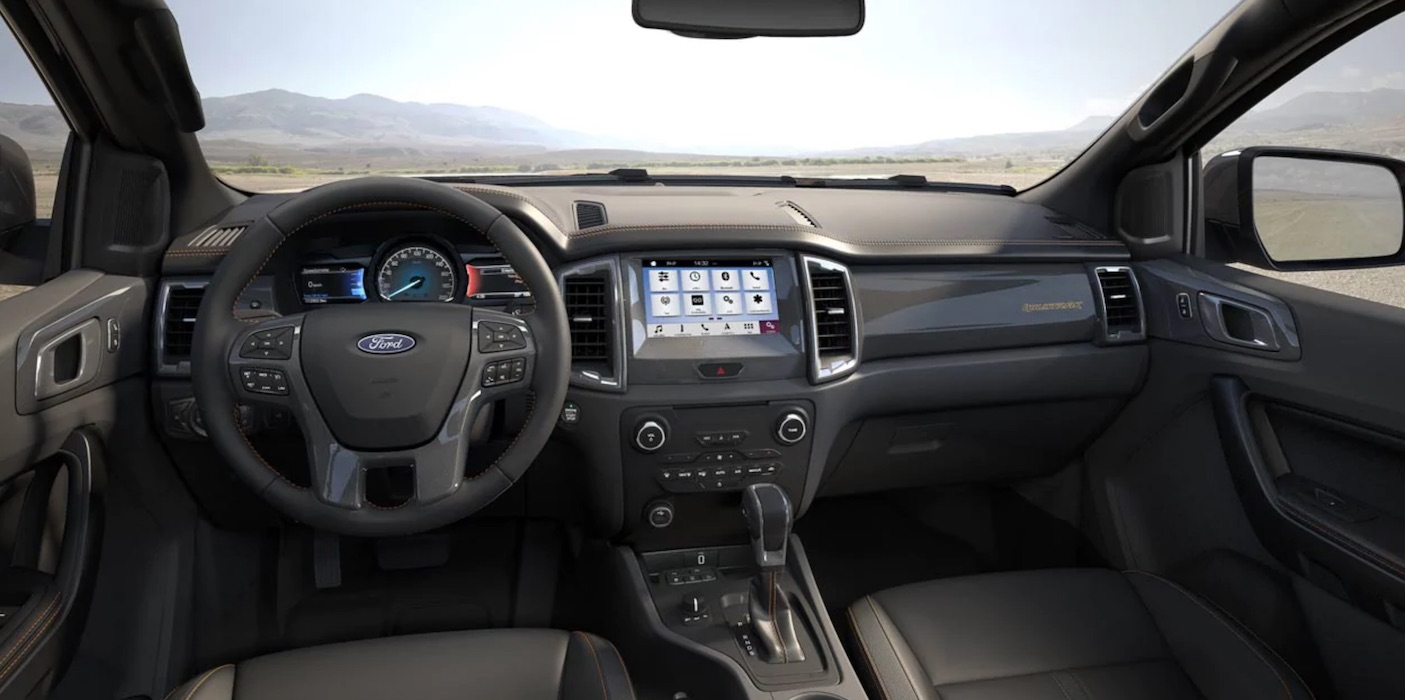 Ford Ranger - Interior - Dashboard | Rent-A-Car Palawan