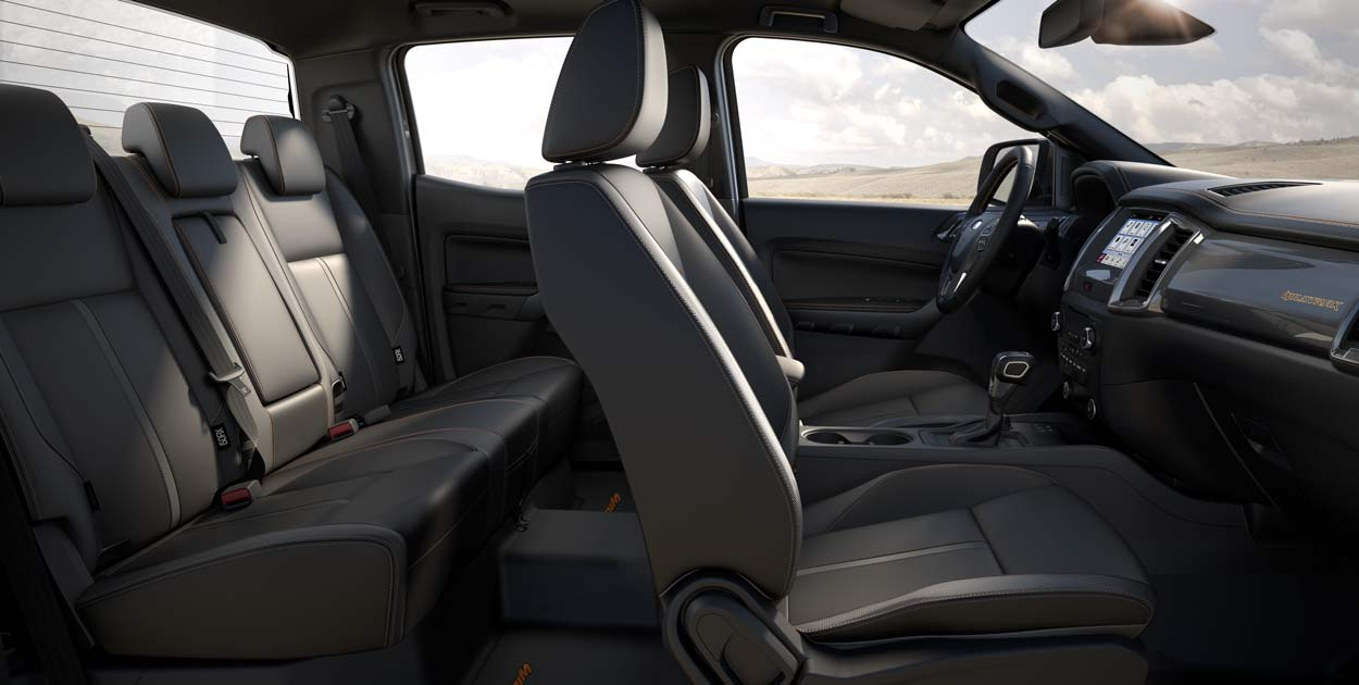 Ford Ranger - Interior - Seats | Rent-A-Car Palawan
