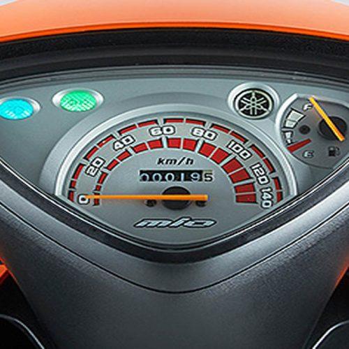 Mio I 125 MeterpanelI Rent-A-Car Palawan