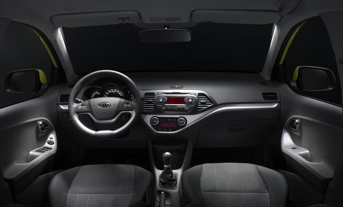 Kia Picanto Front I Rent-A-Car Palawan