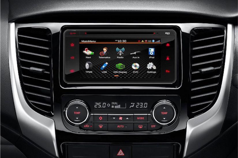 Mitsubishi Strada's Computer |Rent A Car Palawan