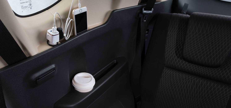 Mitsubishi Xpander Back Seats