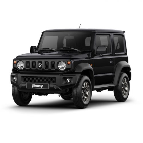 Suzuki Jimny Black - Automatic 4x4 transmission | Rent-A-Car Palawan