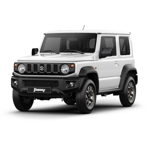 Suzuki Jimny White - Automatic 4x4 transmission | Rent-A-Car Palawan