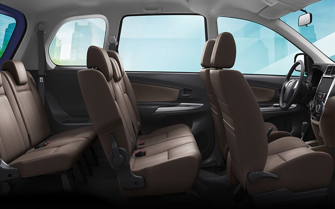 Toyota Avanza Interior I Rent-A-Car Palawan