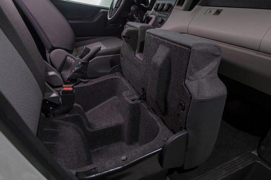 Toyota Grandia - Interior - Front |Rent-A-Car Palawan