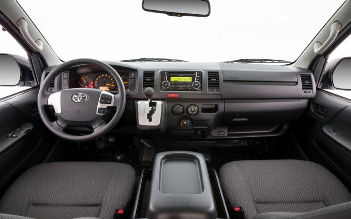 Toyota Hi-Ace Front I Rent-A-Car Palawan
