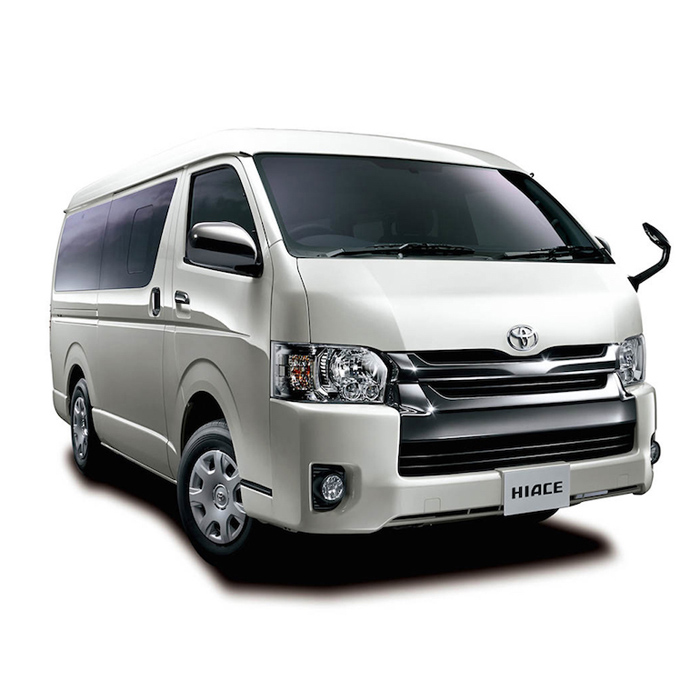 Toyota Hi-Ace I Rent-A-Car Palawan