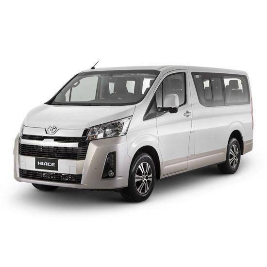 Toyota Hiace Grandia | Rent-A-Car Palawan